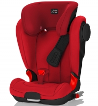 Детское автокресло KIDFIX II XP SICT Black Series Flame Red