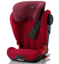 Детское автокресло KIDFIX XP SICT Black Series Flame Red