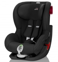 Детское автокресло King II LS Black Series Cosmos Black