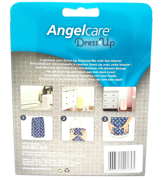 Чехол Angelcare для накопителя Dress Up Elefant Grey
