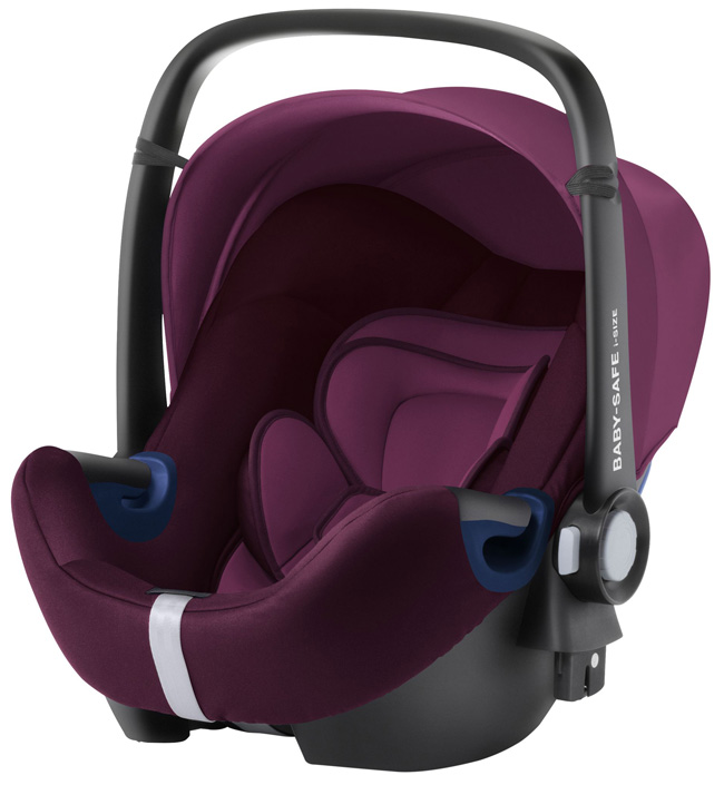 Комплект: автокресло Baby-Safe 2 i-Size + база FLEX Burgundy Red
