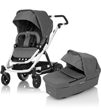 Коляска 2-в-1 Britax GO Next White/ Grey Melange