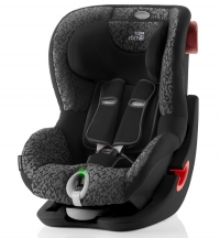 Детское автокресло King II LS Black Series Mystic Black