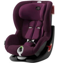 Детское автокресло King II LS Black Series Burgundy Red